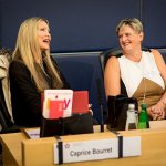 Caprice Bourret and Debbie Bird