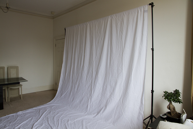 Setting up a home studio for clients