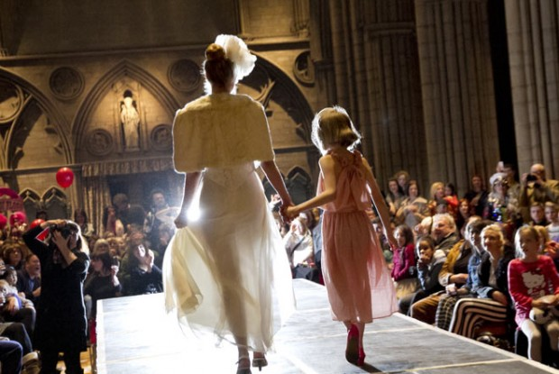 Red Nose Runway Bridal wear